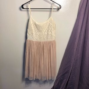 American Eagle Princess Sundress Pink Tulle